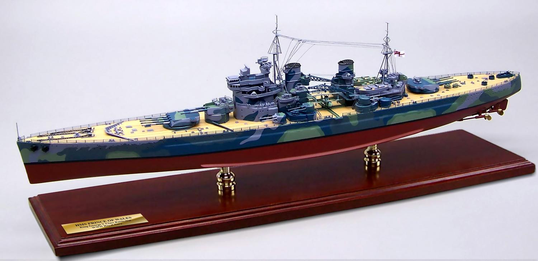英国戦艦プリンス オブ ウェールズ(HMS PR... 外国艦船 > 英国戦艦プリ